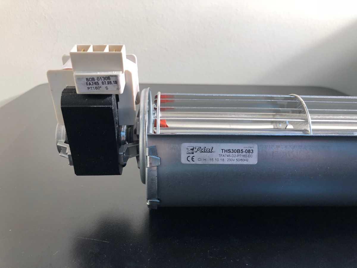 Ventilatore tangenziale classe H DX 60 x 30 cm stufe Extraflame THS30B5 TRIAL