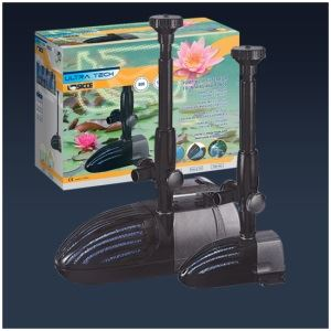 Laghetti e fontane pompa con filtro per fontane e for Pompa x laghetto con filtro